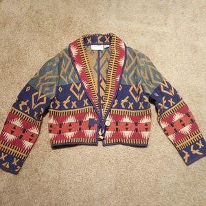 SXSW Vtg Festival Tribal Jacket sz S